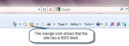 How to use an RSS or news feed | Digital Unite