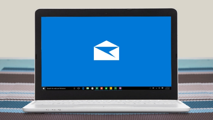 Windows 10 email screenshot