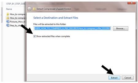 How to compress a file | Digital Unite