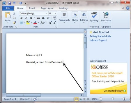 How To Move Around A Document