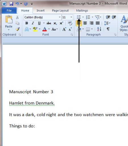 things to do with microsoft word