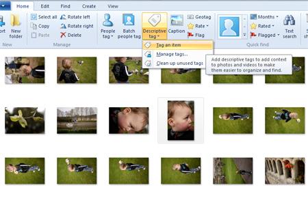 How To Use Windows Live Photo Gallery Digital Unite