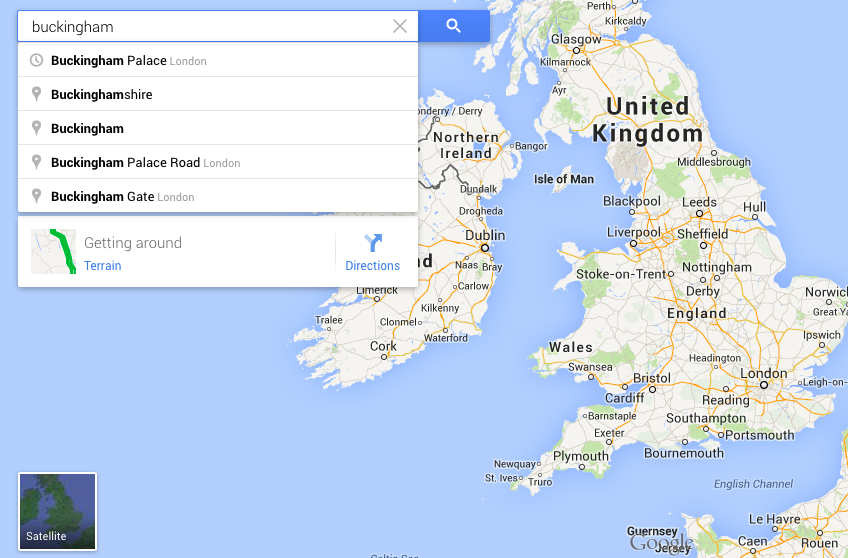How to use Google Maps | Digital Unite Google Search Directions Maps on