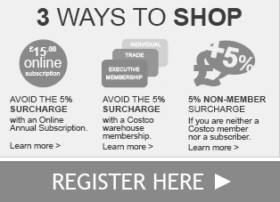 3 WAYS TO SHOP on Costco website