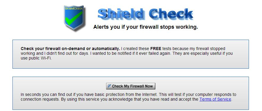 How to test a firewall | Digital Unite