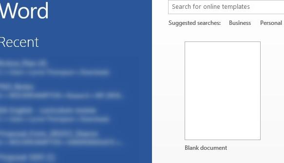 how to start a document digital unite