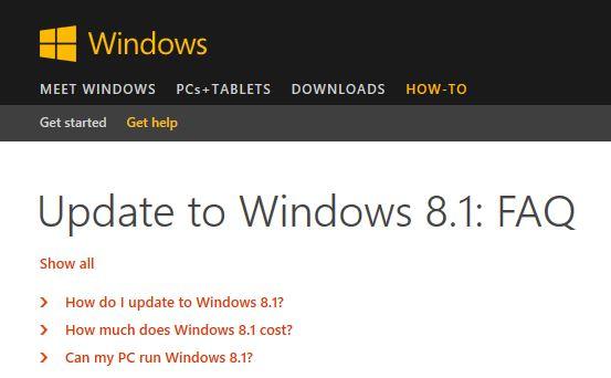 How to upgrade to Windows 8 1 | Digital Unite