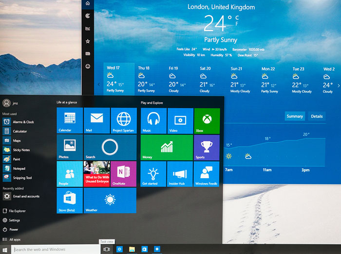 Windows 10 interface screenshot