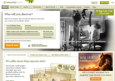 Best … family history websites | Digital Unite