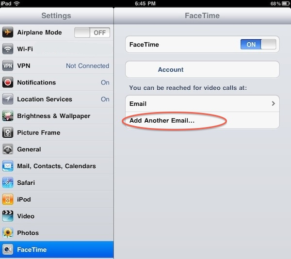 how to add another email account to an iphone 6