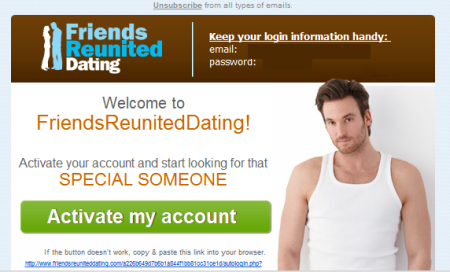 How much is friends reunited dating