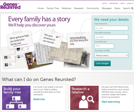family tree builder online free