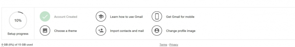 new account google mail