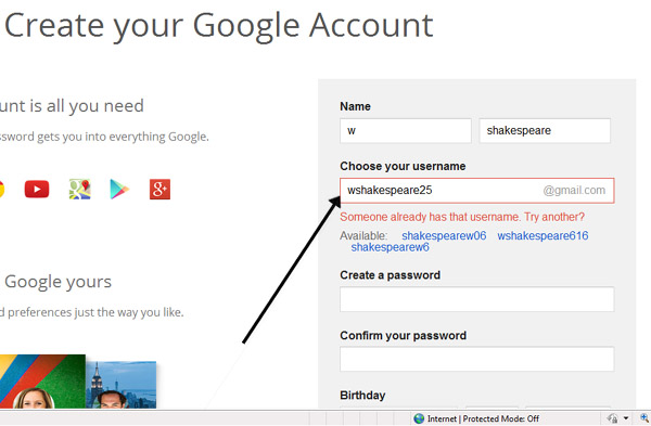 Gmail accounts and passwords list