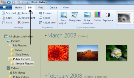 How to resize photos with Windows Photo Gallery | Digital Unite