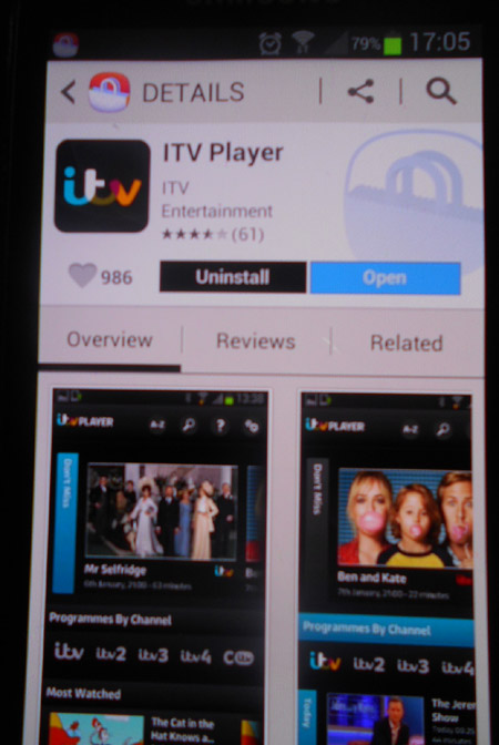 How to watch TV on an Android phone | Digital Unite
