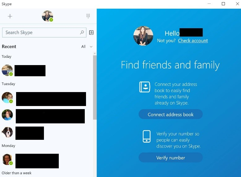 How to launch the Skype app in Windows 10 | Digital Unite