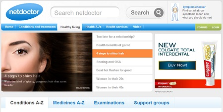 Netdoctor website