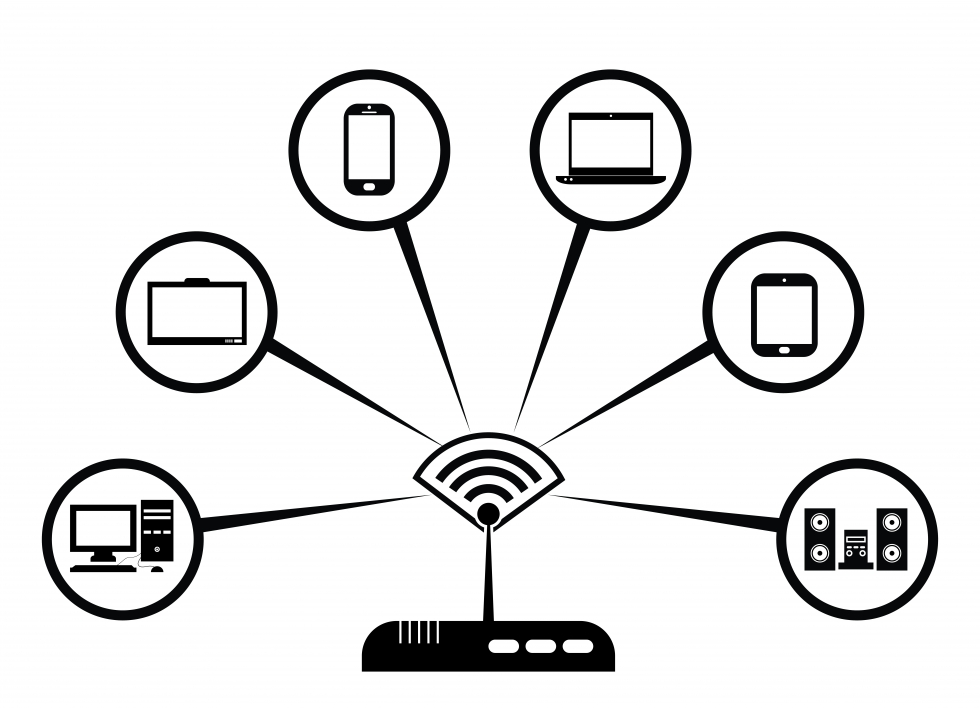 Wireless Network Setup Diagram