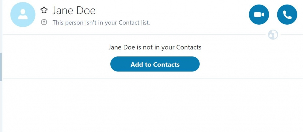 add a contact to skype