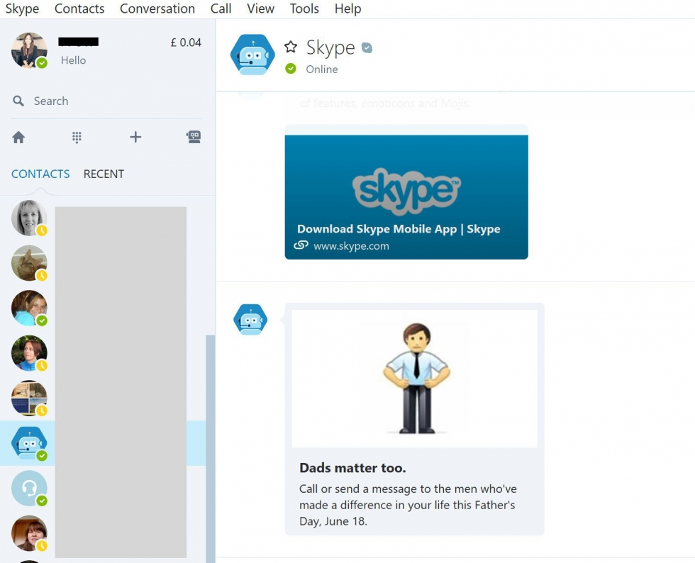 how do you hook up skype