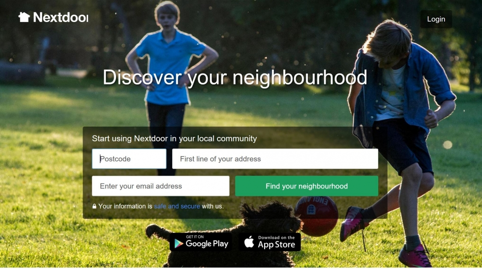 Enter the details and click on find your neighbourhood