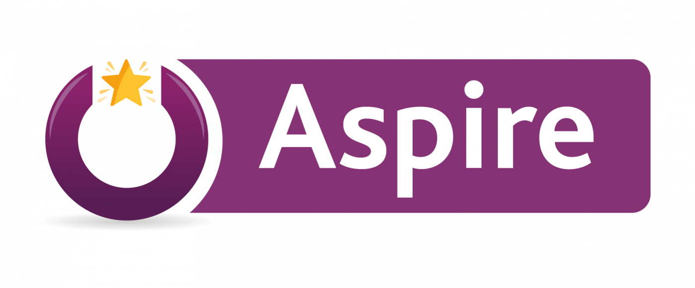 Logo of Aspire, a new employability programme for people with learning disabilities