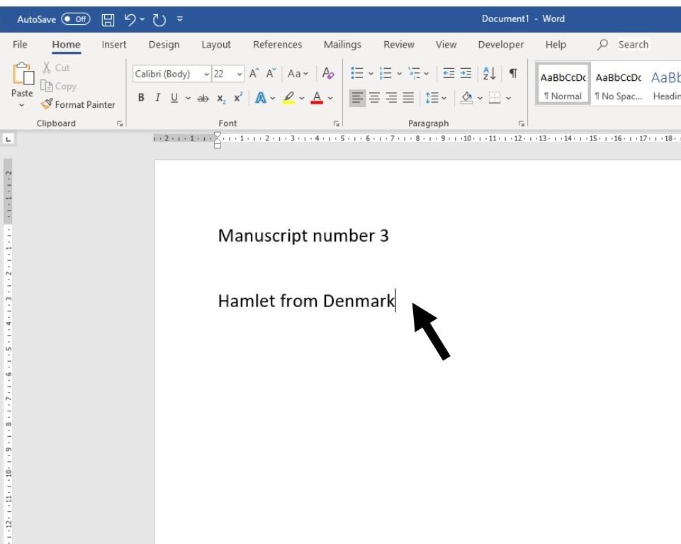 How to move around a document | Digital Unite