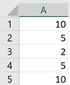 subtract in excel