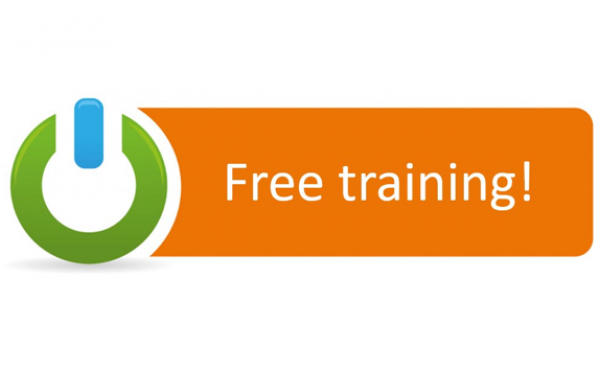 Network logo highlighting free training offer for Digital Champions Network